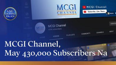 MCGI Channel on YouTube
