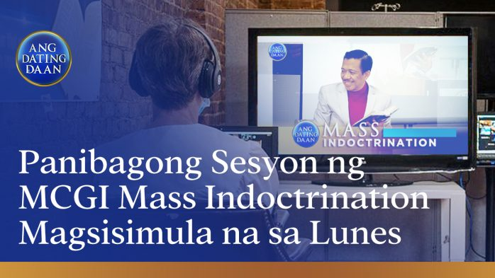 MCGI Mass Indoctrination